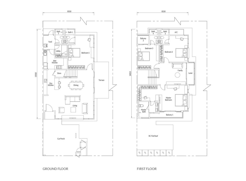 Redup Type C/D Floor Plan