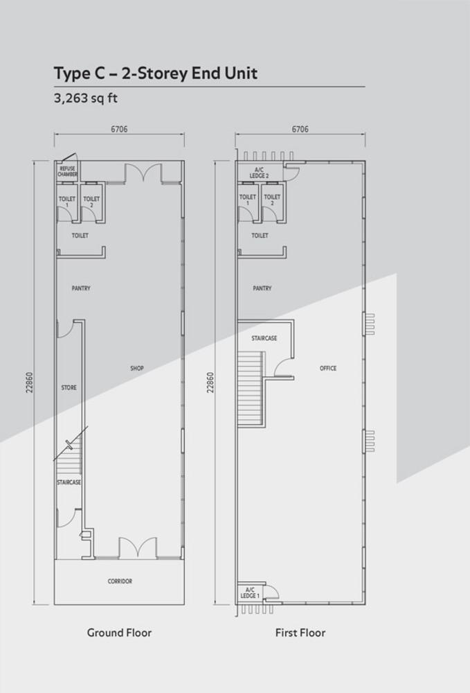 Anika Double Storey Type C Floor Plan