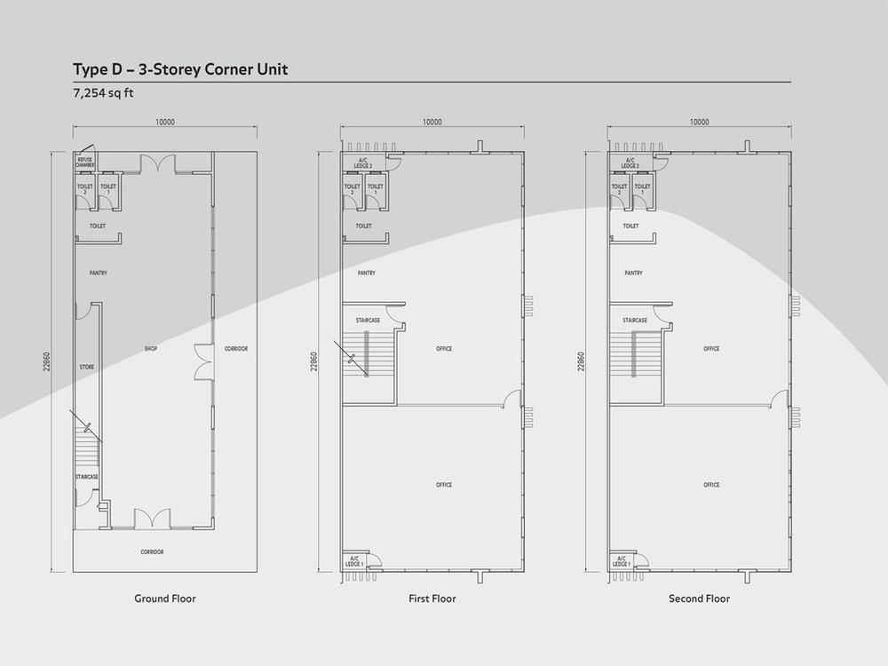 Anika 3 Storey Type D Floor Plan