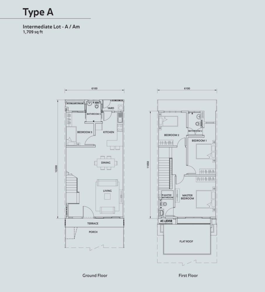 Elmina Valley Elmina Valley 1 Type A - Intermediate Floor Plan