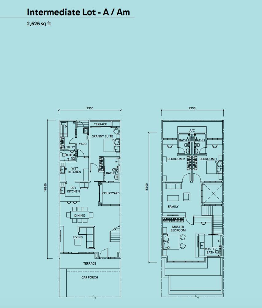Elmina Valley Elmina Valley 3 Type C - Intermediate Floor Plan