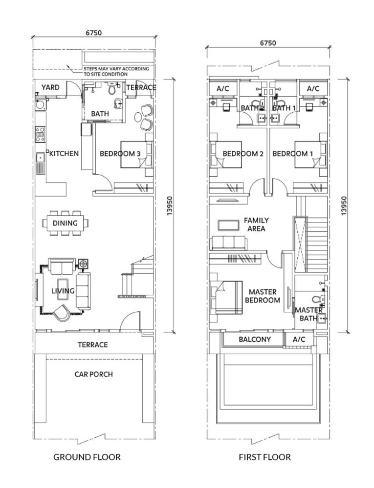 Elmina Valley Elmina Valley 4 Type A - Intermediate  Floor Plan