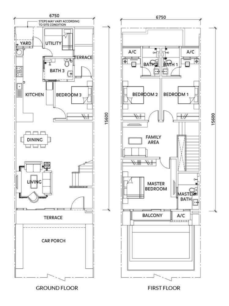 Elmina Valley Elmina Valley 4 Type B - Intermediate  Floor Plan