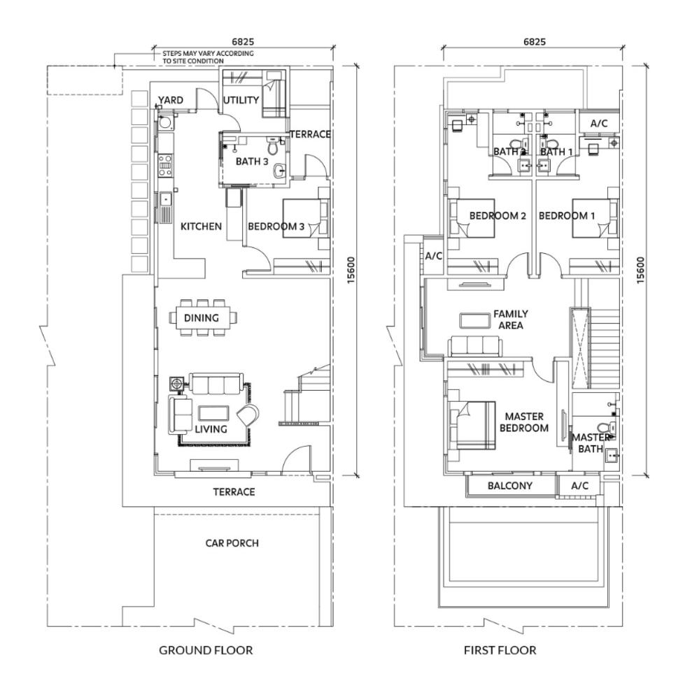 Elmina Valley Elmina Valley 4 Type B - End Lot Floor Plan
