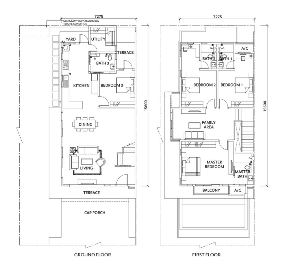 Elmina Valley Elmina Valley 4 Type B - Corner Floor Plan