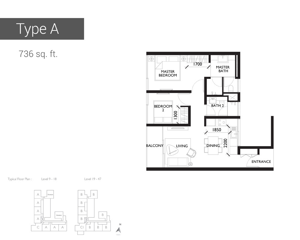 10 Stonor Type A Floor Plan