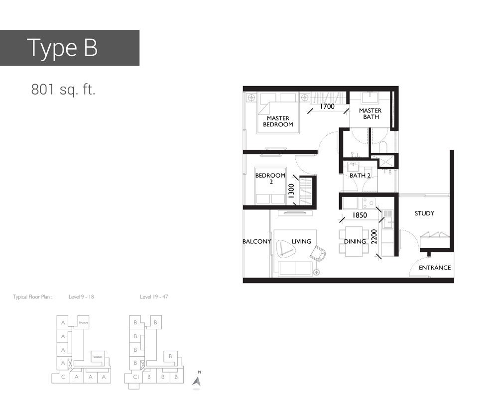 10 Stonor Type B Floor Plan