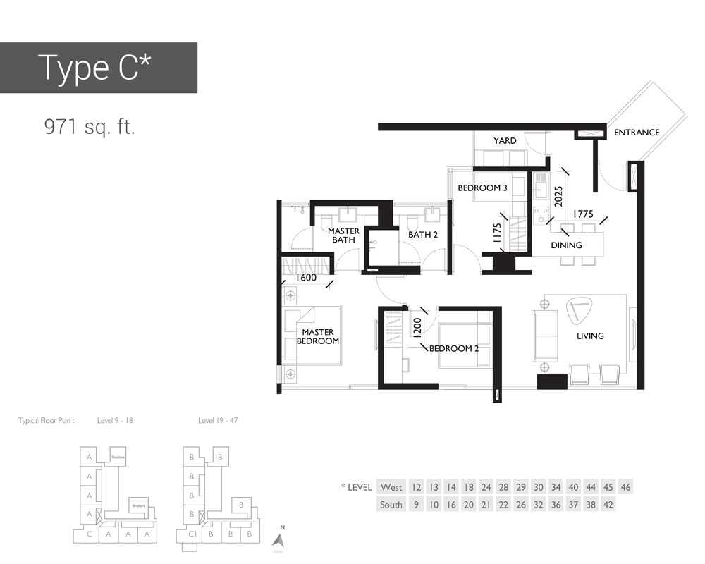 10 Stonor Type C Floor Plan