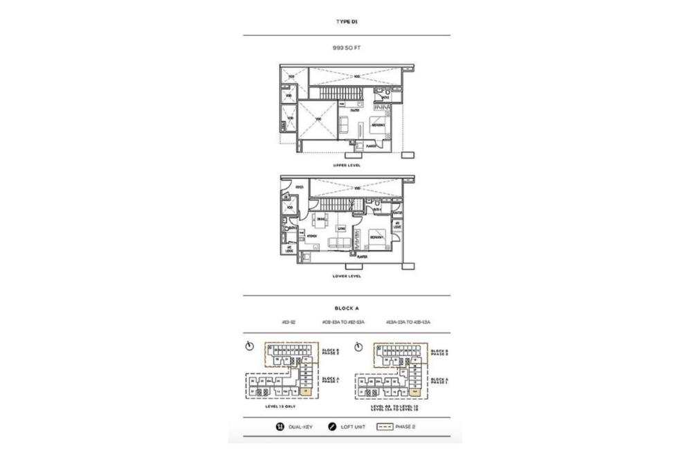 The Luxe by Infinitum Type D1 Floor Plan