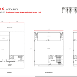 Vervea floorplan type g small