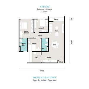 E island lake haven residence type b3 propsocial small