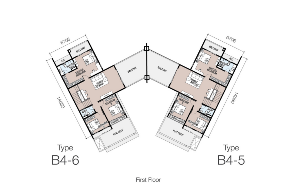 Eugenia 1 Type B4 Floor Plan