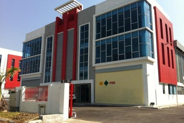 Bukit Raja Industrial Park in Klang
