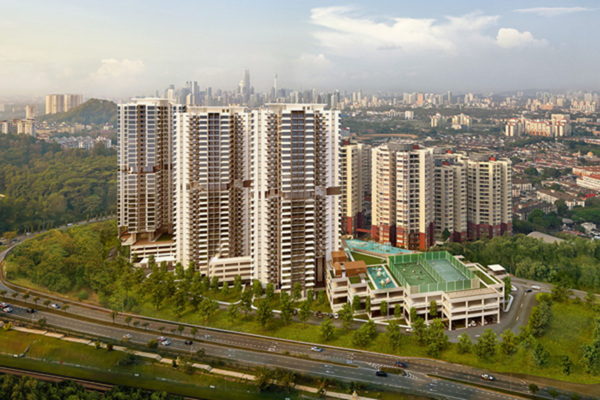 New development in Infiniti3 Residences, Wangsa Maju
