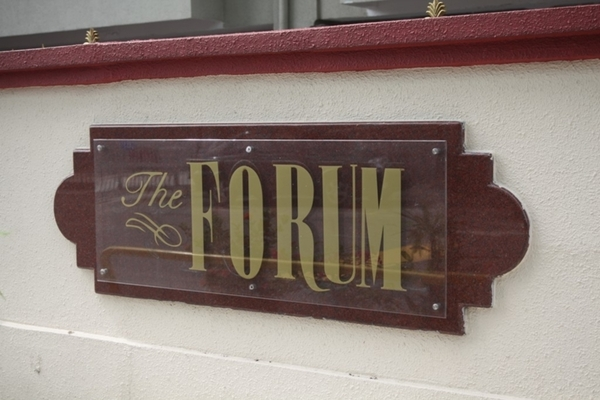 The Forum's cover picture