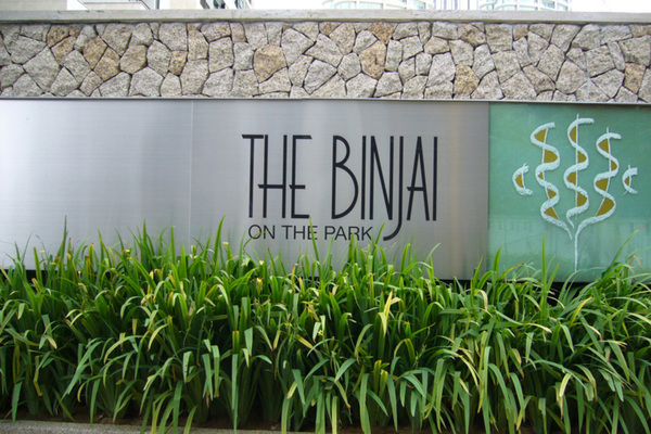The Binjai On The Park's cover picture