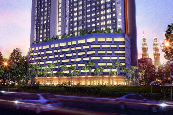 The Parc Tower's cover picture