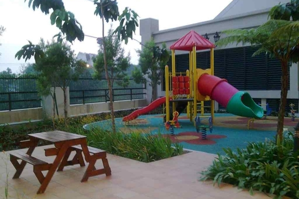 Playground area small