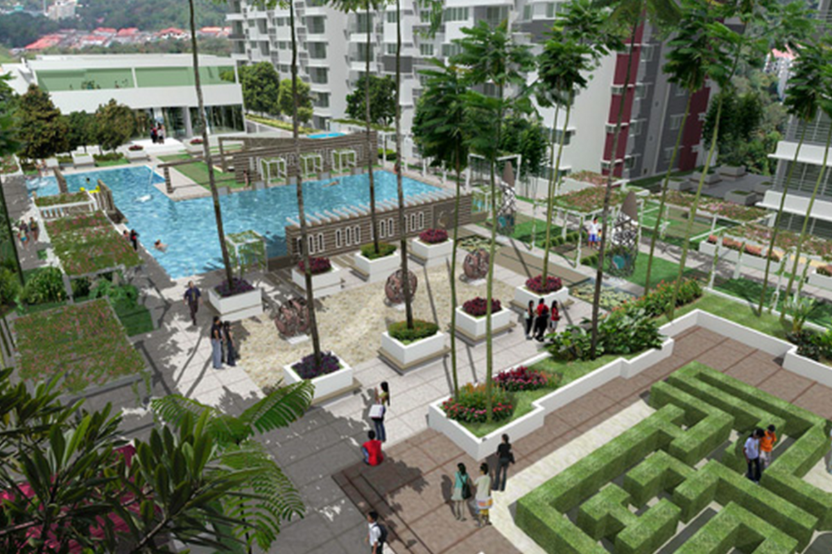 Review for koi kinrara bandar puchong jaya propsocial for Koi kinrara swimming pool