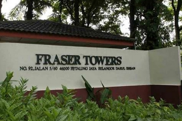 Fraser Towers in Gasing Heights