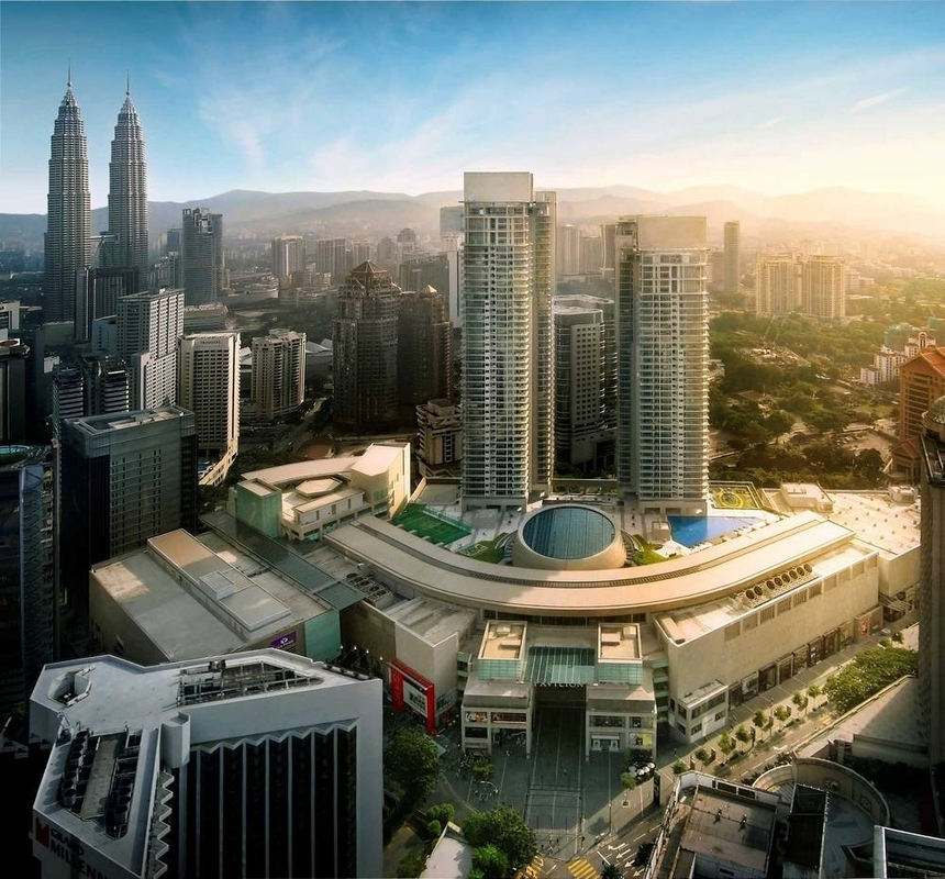 New development in Pavilion Residences, Bukit Bintang