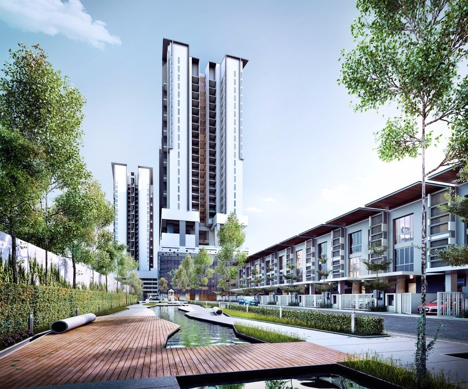 New development in The Andes, Bukit Jalil