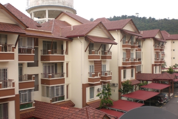 Gardenville Townvilla in Selayang Heights