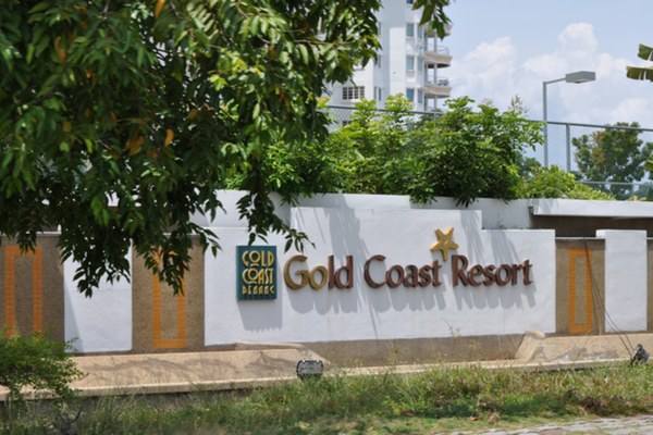 Gold Coast in Bayan Indah