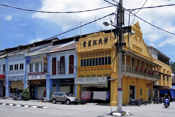 Bentong Town in Pahang