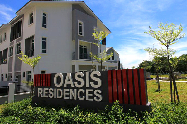 Oasis Residences in Relau