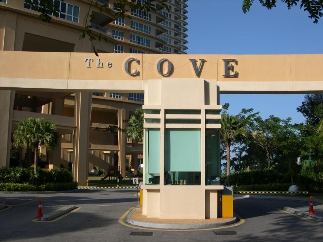New development in The Cove, Tanjung Bungah