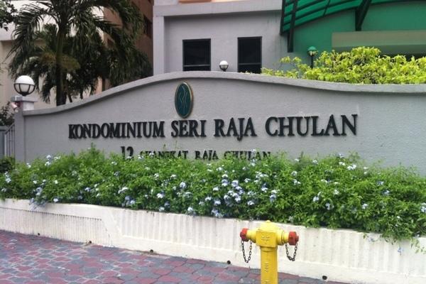 Seri Raja Chulan in Bukit Ceylon