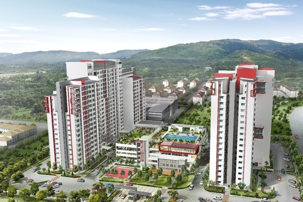 New development in Kalista 2, Seremban 2