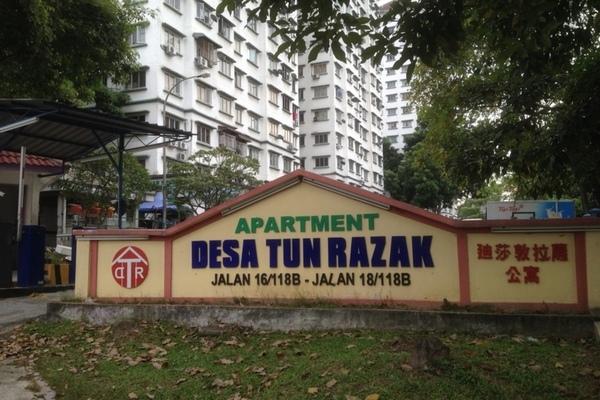 Desa Tun Razak in Bandar Tun Razak