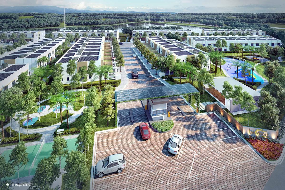 New development in Bellevue @ Cybersouth, Dengkil