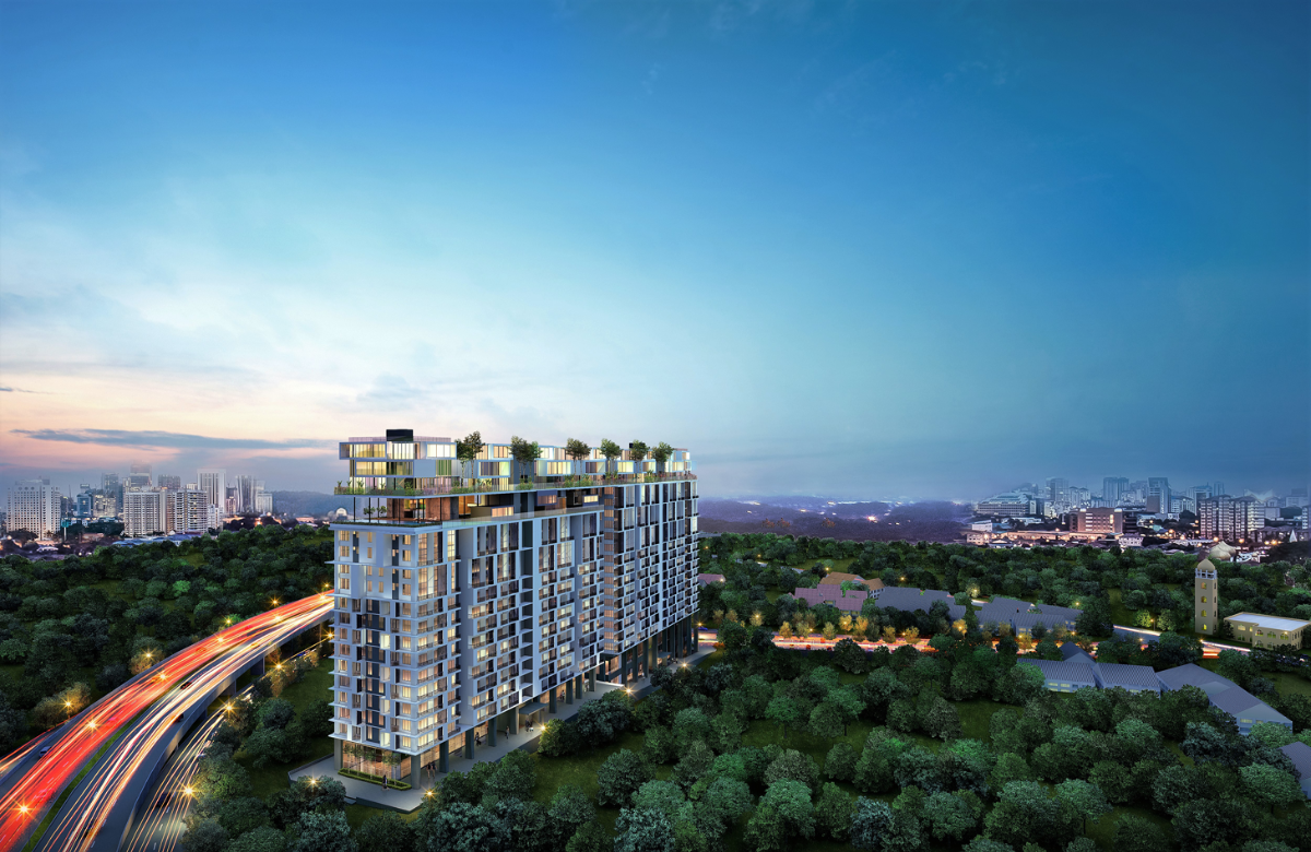 New development in Rencana Royale, TTDI