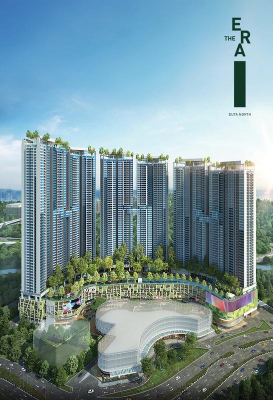 New development in The ERA, Segambut
