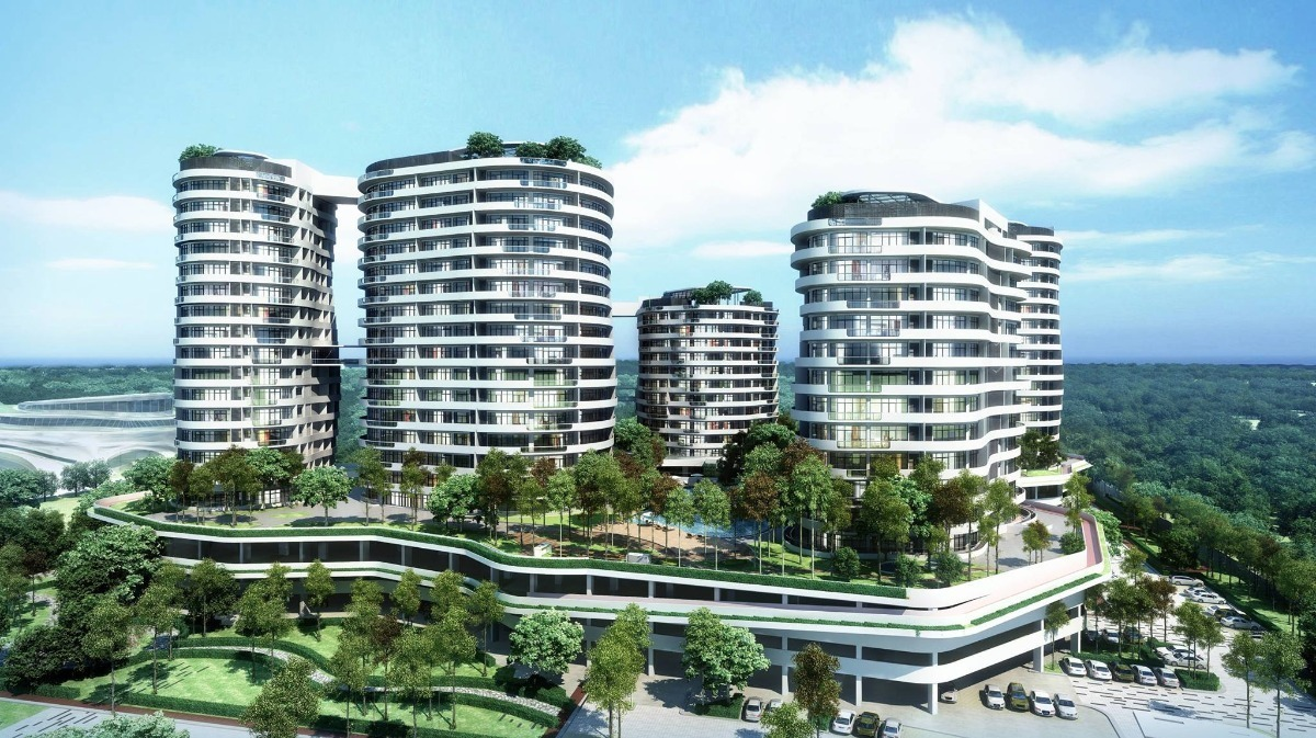 New development in O2 City, Puchong