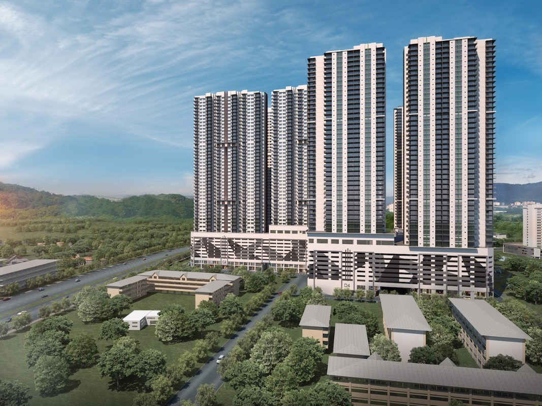 New development in Razak City Residences, Sungai Besi