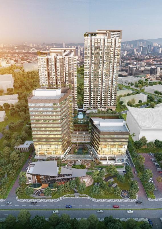 New development in Atwater, Petaling Jaya