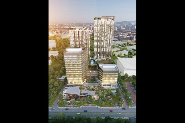 New development in Atwater, Petaling Jaya