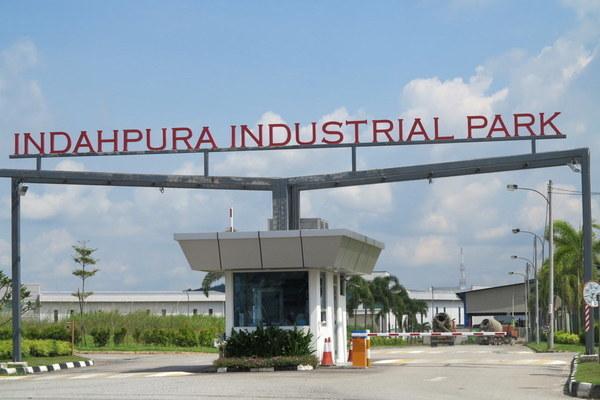 Indahpura Industrial Park in Kulai