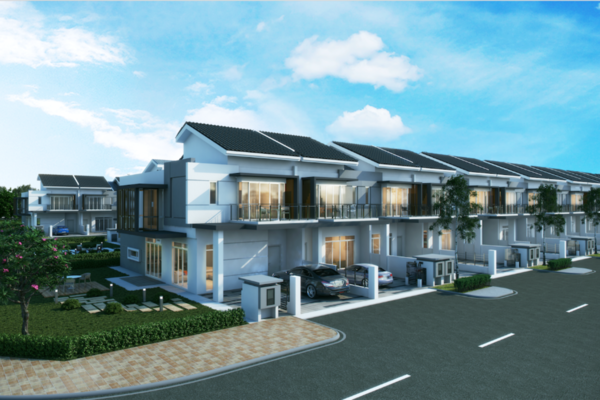 New development in Aquamarine, Taman Putra Prima