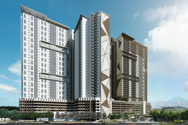New development in Platinum OUG Residence, Bukit Jalil