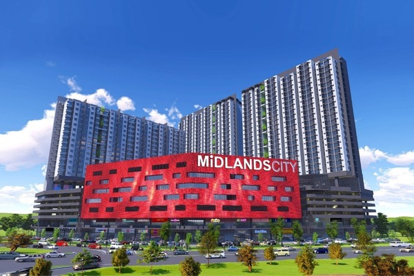 New development in Midlands City, Semenyih