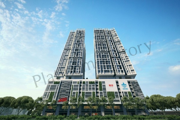 New development in Platinum Arena, Old Klang Road