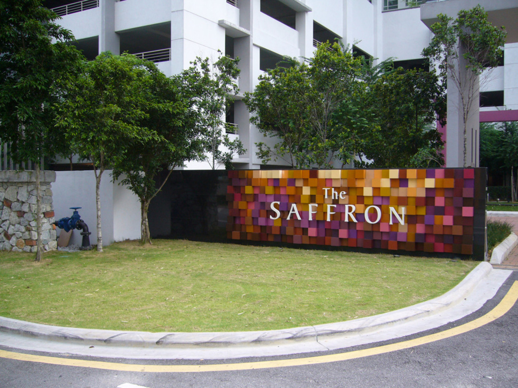 New development in The Saffron, Sentul