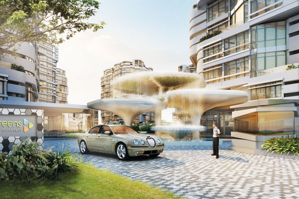 AraGreens Residences's cover picture