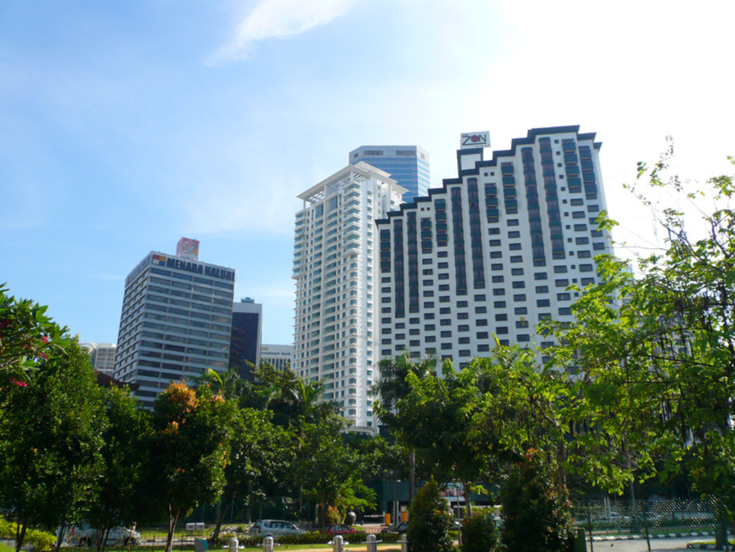 New development in Binjai Residency, KLCC