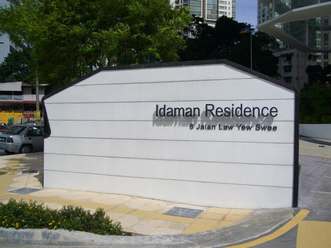 New development in Idaman Residence, KLCC